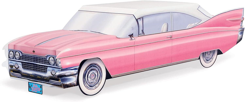 Beistle 50's Cruisin-Feet Car Centerpiece, 13 3/4-Inch, Multicolor