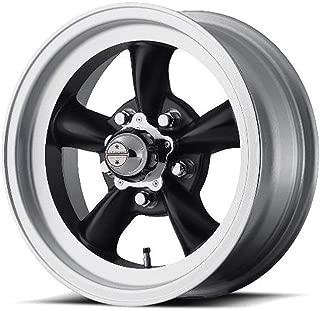 American Racing Custom Wheels VN105 Torq Thrust D Satin Black Wheel With Machined Lip (15x6