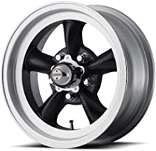 American Racing Custom Wheels VN105 Torq Thrust D Satin Black Wheel With Machined Lip (15x8