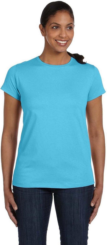 Hanes Women's ComfortSoft Crewneck T-Shirt