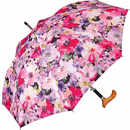 Happy Rain Stützschirm Fritzgriff Delicate Flowers