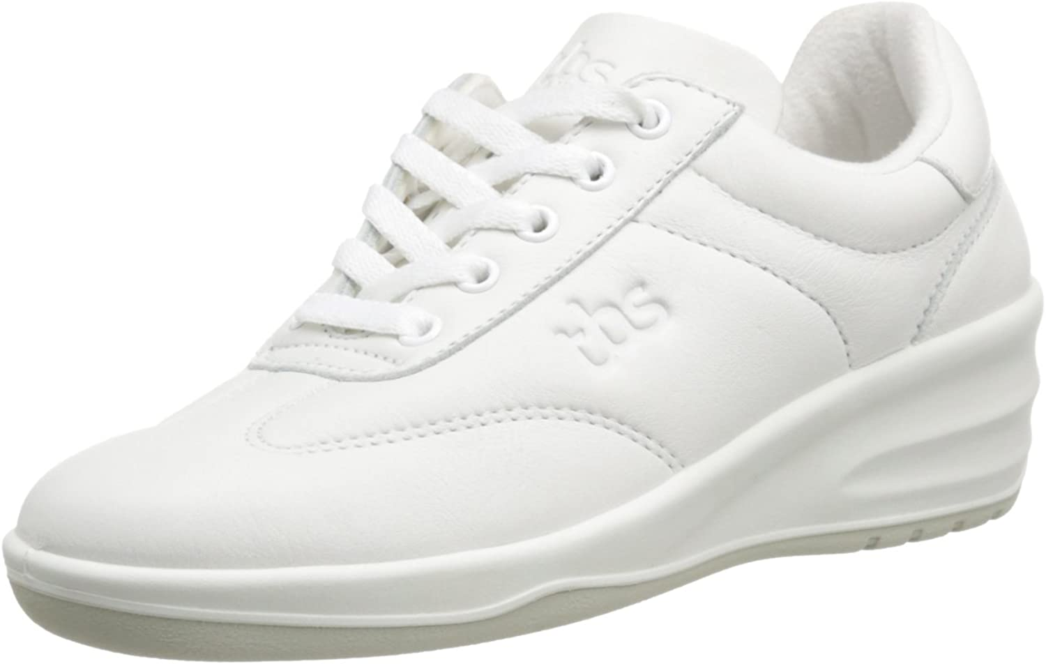 (6 UK, white (4707 white))  TBS Women's Dandys LaceUp Flats