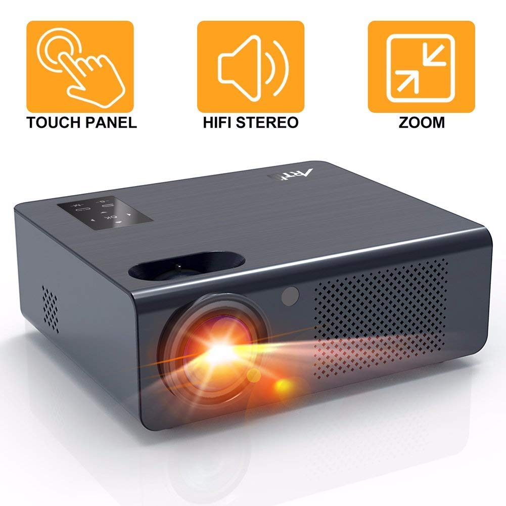 Projector Artlii Projector Compatible Chromecast