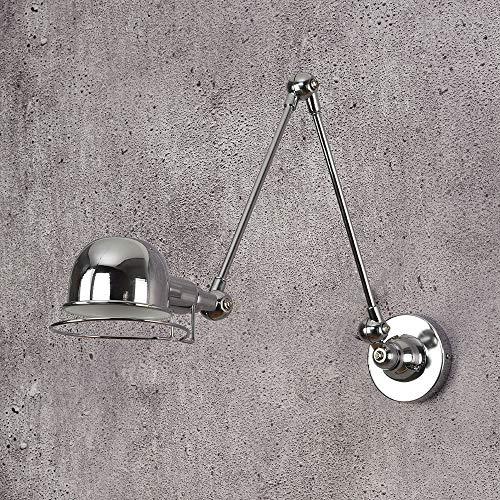 Wandleuchte Klassische Nordic Loft Industriestil verstellbare Jielde Wandleuchte Vintage Wandleuchte Wandleuchten LED für Wohnzimmer Schlafzimmer Badezimmer