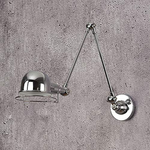 Lámpara de Pared Classic Nordic loft estilo industrial jielde ajustable Lámpara de pared Aplique vintage luces de pared LED para sala de estar dormitorio baño