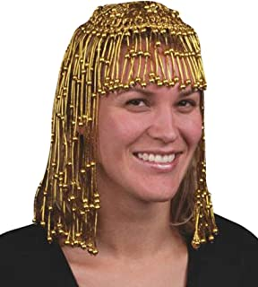 Star Power Cleopatra Egyptian Queen Headpiece Gold One Size