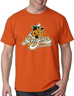 Baseball Naranjeros de Hermosillo T-Shirt for Men's Color Orange