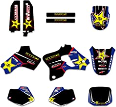 Transporter-Space - Motorcycle TEAM GRAPHICS BACKGROUNDS DECALS STICKERS Kits Fit for Yamaha YZ80 1993 1994 1995 1996 1997 1998 1999 2000 2001