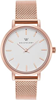 WRISTOLOGY Charlotte - 4 Options - Lines Womens Watch Rose Gold