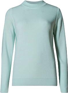 Ex store 3//4 Sleeved Knitted Slash Neck Jumper Cream