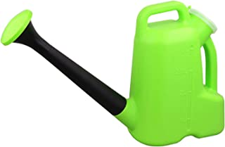 Floors Watering Can with Detachable Sprinkler Rose, Lawn Garden Watering Equipment for Indoor Outdoor Plant 3L 5L (3L, Green)