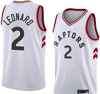 CHUANG Top de Sudadera de Jersey para Hombre - Raptors canadienses Leonard # 2 / Aficionados de Baloncesto de niños y niñas Parejas