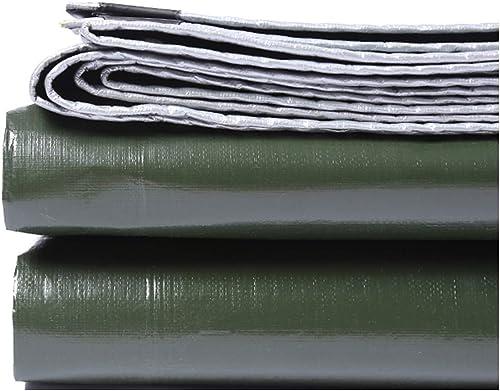 KYSZD-Baches épaissir Bache Imperméable Poncho Preuve Acide Anti-Corrosion Anti-age Résistant aux UV Antigel Serre Isolation Tissu imperméable Camping Randonnée 0.38mm