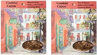 Cookin' Cajun Royal Street Sauce A La Creole Seasoning Blend, 1.2 Ounce Packet (Pack of 2)