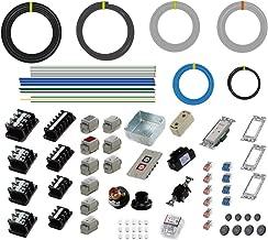 準備万端 (1回練習分) 第一種電気工事士技能試験練習用材料 「全10問分の器具・電線セット」