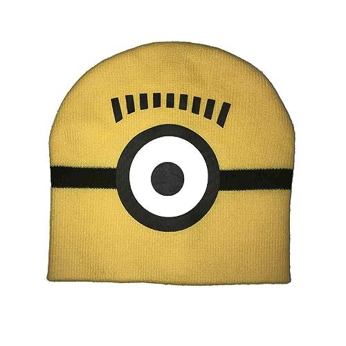 55a01d85aaa28 Minion one Eye Kids Knit hat