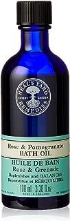 Neal's Yard Remedies Rose & Pomegranate Bath Oil 100ml, 100 milliliters