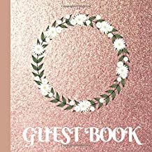 Guest Book: Rose Gold Bridal Shower Guest Book Includes Gift Tracker and Picture Memory Section to Create a Lasting Memory Keepsake
