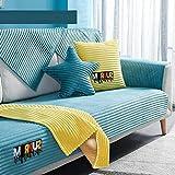 Ginsenget Sofá Cama algodón Repuesto Grueso Sofá Cama,o Esquina,o sofá desplegable (Varios tamaños),Arena Espesa más Terciopelo