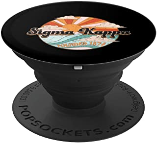 Sigma Kappa Pledge, Rush or Alumnae Sorority 1874 Sun Clouds PopSockets Grip and Stand for Phones and Tablets