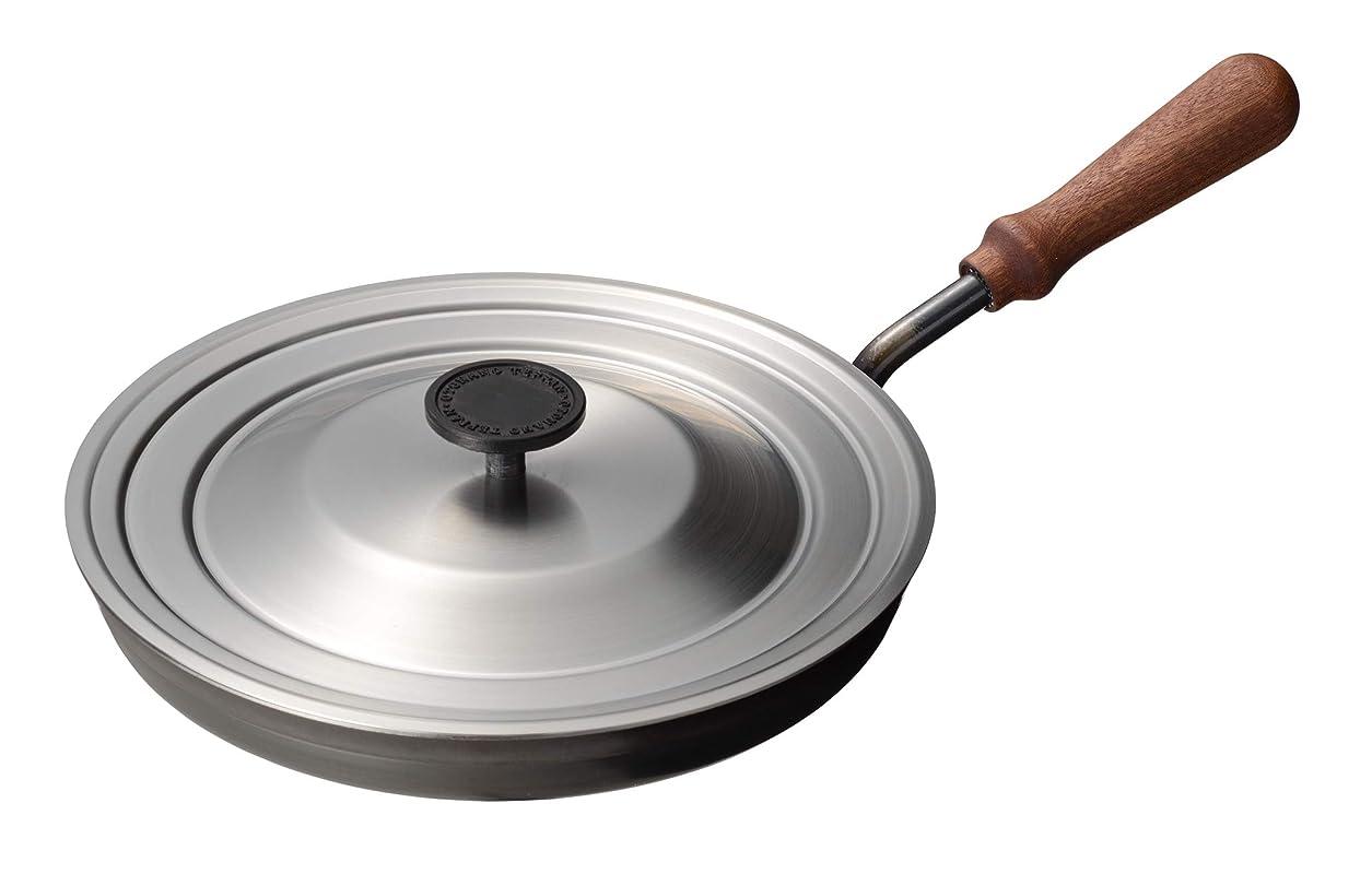 理解する韓国刺繍大人の鉄板 フライパン26cm (蓋付き)