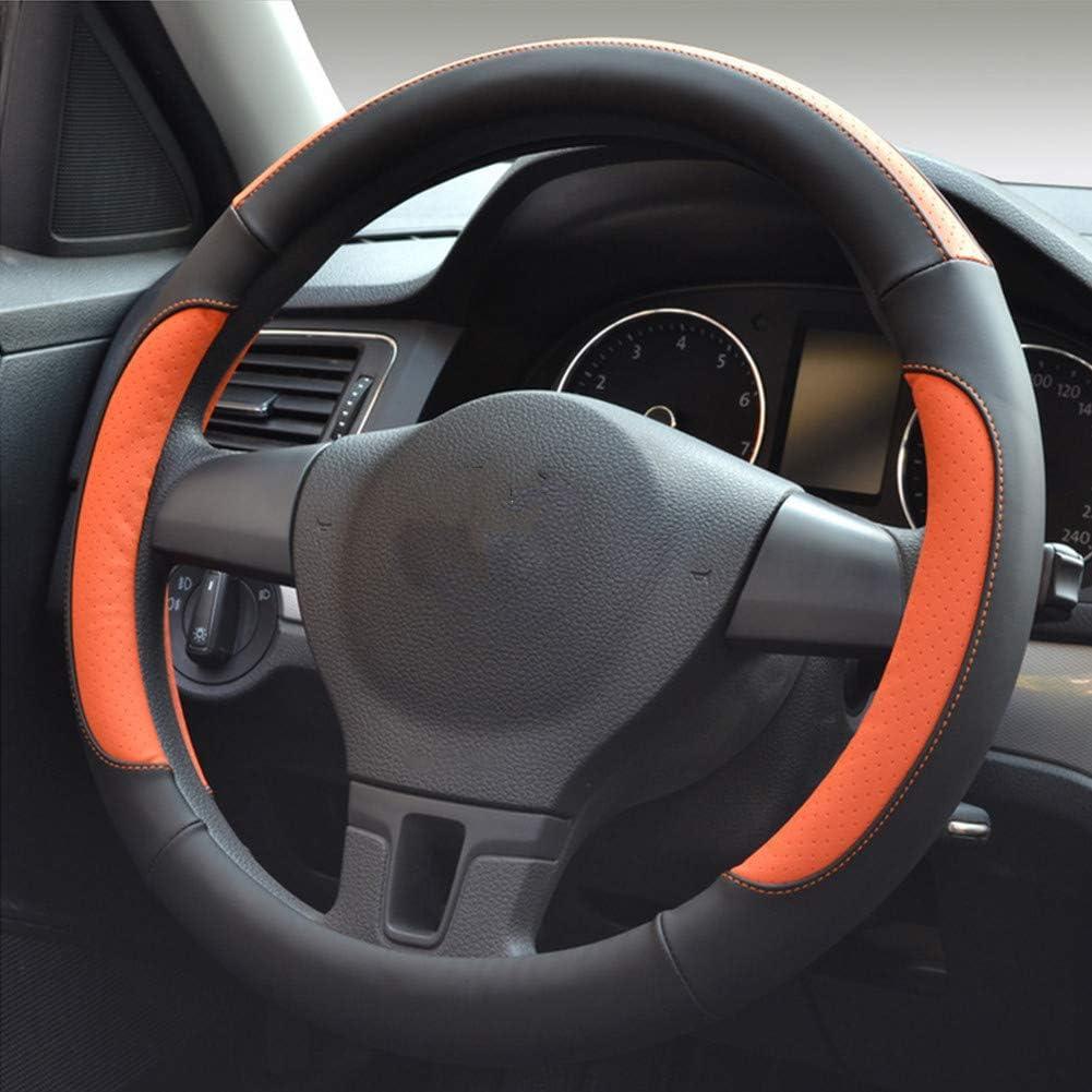 Labellevie Universal Fundas para volante Cubierta del Volante de Cuero del Microfibra Antideslizante 37-38cm