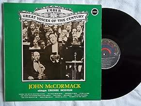 GVC 11 JOHN McCORMACK Sings Irish Songs vinyl LP