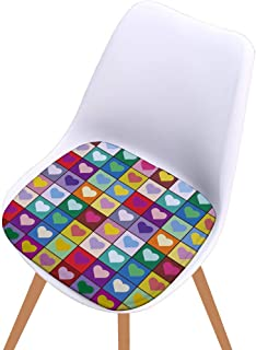 Hot Sale!DEESEE(TM)🌸🌸Printed Cotton Seat Pad Outdoor Dining Room Garden Kitchen Chair Cushion (A)