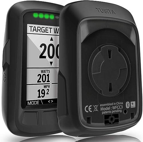 TUSITA Cas pour Wahoo Elemnt Bolt - Housse de Protection en Silicone Peau - Ordinateur de vélo Accessoires GPS