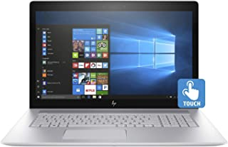 "HP ENVY - 17t Home and Business Laptop (Intel i7-8565U 4-Core, 16GB RAM, 128GB SSD + 1TB HDD, 17.3"" Touch Full HD (1920x1080), NVIDIA GeForce MX250, Fingerprint, Wifi, Bluetooth, Webcam, Win 10 Home)"