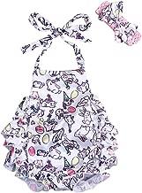 Toddler Baby Girls Romper Easter Rabbit Printed Bodysuit Kids Jumpsuit Easter Clothing