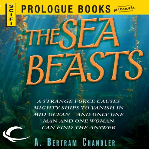 The Sea Beasts audiobook cover art