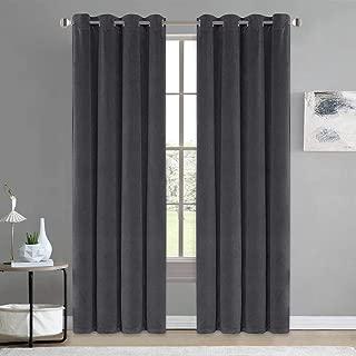 aqua velvet curtains