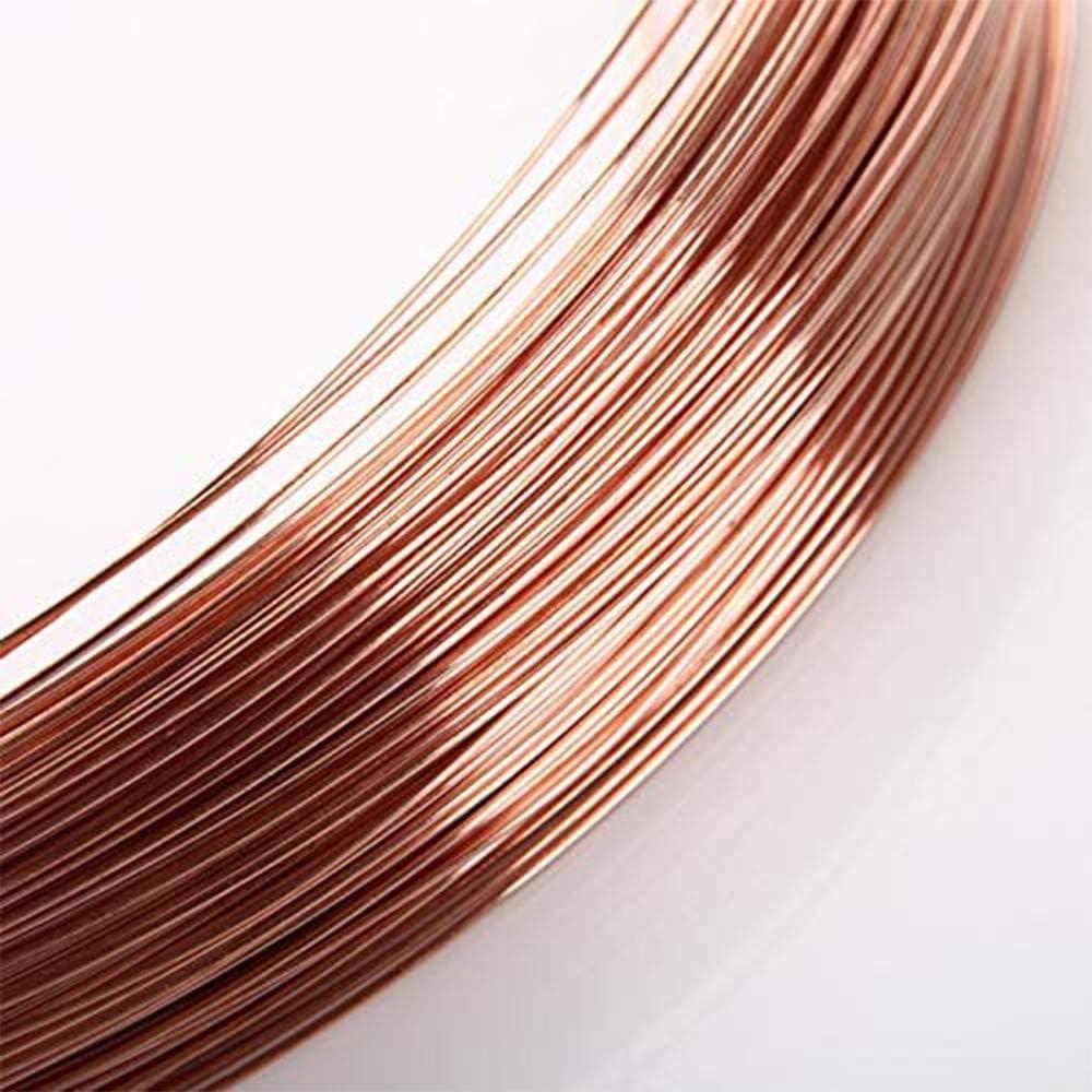 LOKIH Copper Round Wire Metal Alloy Wire,1mmx1m