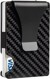 Money Clip Slim Wallet - Minimalist RFID Blocking Credit Card Holder (2018 New)