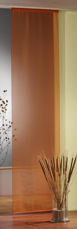 fashion and joy Fl/ächenvorhang in grau wei/ß mit Ranke inkl Schiebevorhang Modern Chic Gardine Typ414 Zubeh/ör HxB 245x60 cm pflegeleicht