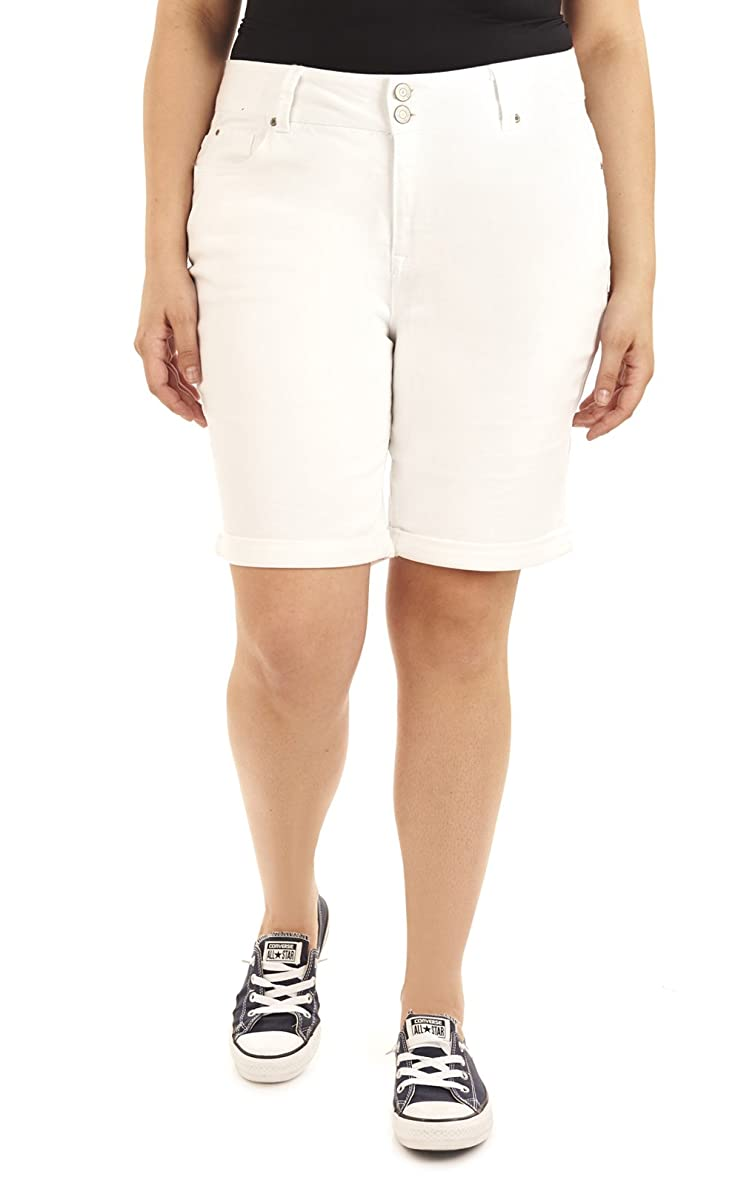 Angels Forever Young Women's Curvy Bermuda Shorts