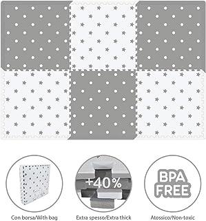Amazon.es: alfombra de juegos bebe gris