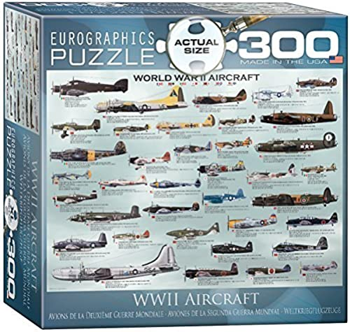 Eurographics World War II Aircraft MO Puzzle (XL, 300 Pieces) by Eurographics