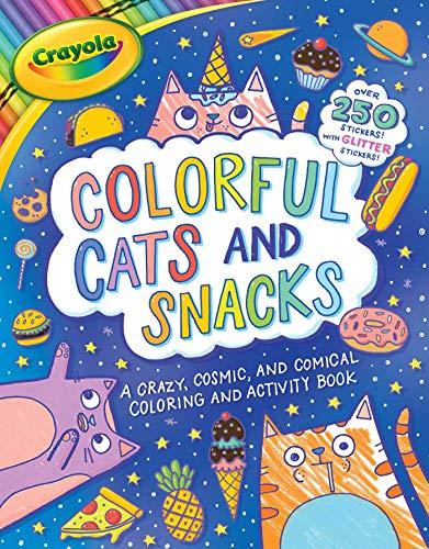 Crayola Colorful Cats and Snacks (Crayola/BuzzPop)