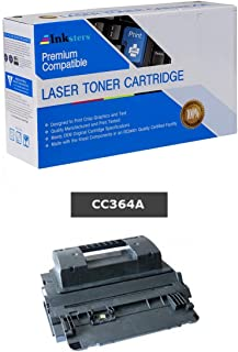 Inksters Compatible Black Toner Cartridge Replacement for HP 64A CC364A - Compatible with Laserjet P4014 P4014N P4015 P4015N P4015TN P4015X P4515 P4515N