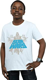 Star Wars Niños Vintage Empire Camiseta