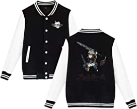 Gumstyle Anime Black Clover 3D Printed Windproof Jacket Adult Cosplay Zip Sweatshirt Short Coat