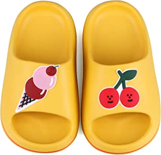 Niñas Niños Frutas Zapatillas Ducha Baño Niños Zapatillas Verano Toboganes Sandalias Playa Piscina Zapatos Para el Agua (N...