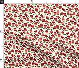 Spoonflower Stoff - Wassermelone Obst Sommer Essen Dessert