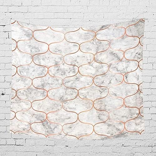 AITU Tapestry Figure Géométrique Tapisserie De Camping Camping Matelas Nappe Yoga Tapis Salon Chambre Tenture Décoration pour La Maison