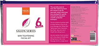 VLCC Skin Tightening Facial Kit Free 1 Additional Session Sachet Inside The Pack