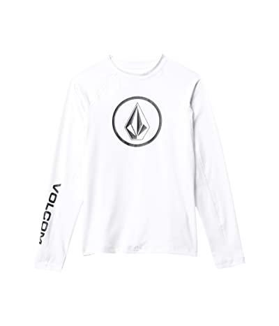 Volcom Kids Lido Solid (Little Kids/Big Kids) (White) Boy
