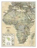 MAP-NATL GEOGRAPHIC AFRICA EXE (National Geographic Reference Map)