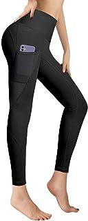 RaMokey Leggings Mujer Mallas de Deporte de Mujer Cintura Alta con Bolsillos Pantalon Deportivo para Running Training Esti...